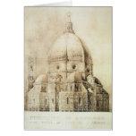 Catedral de Florencia del este, de 'fragmentos Tarjeta De Felicitación