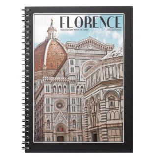Catedral de Florencia Libretas Espirales