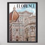 Catedral de Florencia Póster