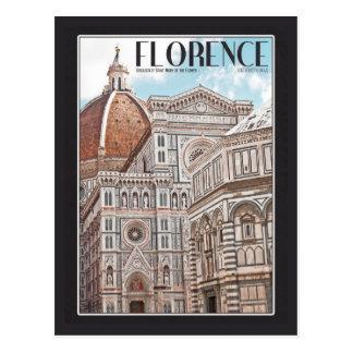 Catedral de Florencia Tarjeta Postal