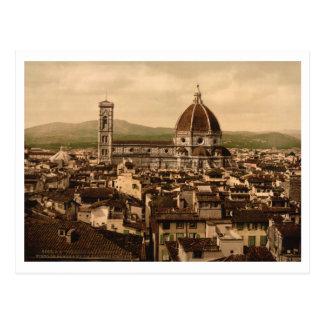 Catedral de Florencia, Toscana, Italia Tarjeta Postal
