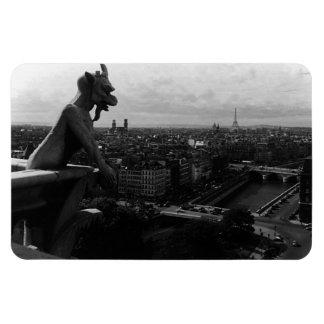 Catedral de Francia París Notre Dame el diablo Iman Flexible