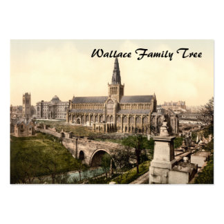 Catedral de Glasgow, Glasgow, Escocia Plantilla De Tarjeta Personal