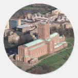 Catedral de Guildford Pegatinas Redondas