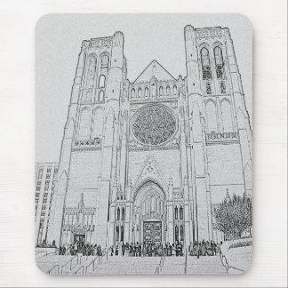 Catedral de la tolerancia alfombrilla de raton