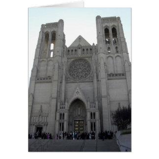 Catedral de la tolerancia tarjeta de felicitación