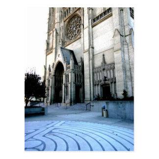 Catedral de la tolerancia tarjeta postal