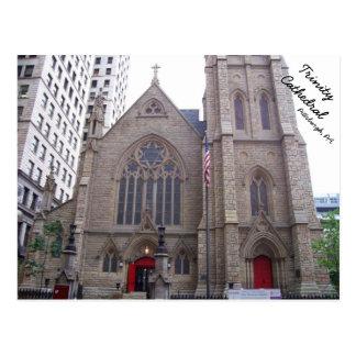 Catedral de la trinidad en Pittsburgh céntrica, PA Postales