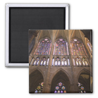 Catedral de Leon, interior stained glass windows 2 Refrigerator Magnet