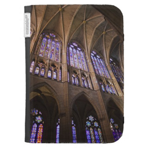 Catedral de Leon, interior stained glass windows Kindle Keyboard Case