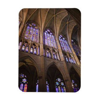 Catedral de Leon, interior stained glass windows Magnet