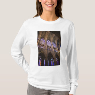 Catedral de Leon, interior stained glass windows T-Shirt
