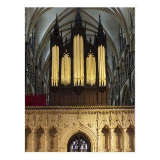 Catedral de Lincoln, postal BRITÁNICA