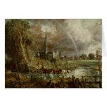 Catedral de los prados, 1831 de Salisbury Tarjeton