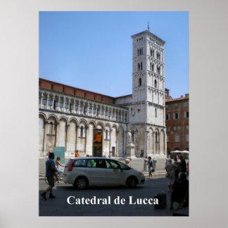 Catedral de Lucca Print