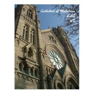 Catedral de Madeleine - postal