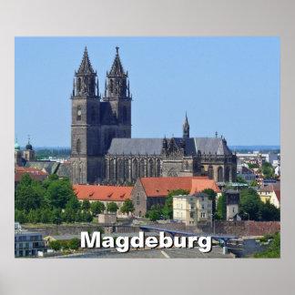 Catedral de Magdeburgo 02, Póster
