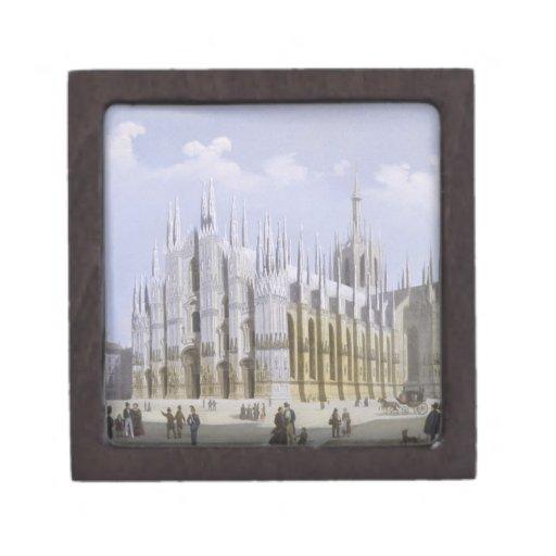 Catedral de Milano de 'vistas de Milano y de su En Caja De Regalo De Calidad
