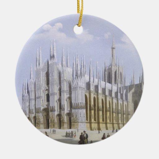 Catedral de Milano de 'vistas de Milano y de su En Ornamentos De Reyes Magos