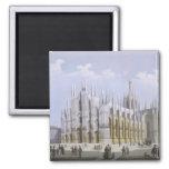 Catedral de Milano de 'vistas de Milano y de su En Imán Cuadrado