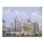 Catedral de Milano de 'vistas de Milano y de su Tarjetas Postales