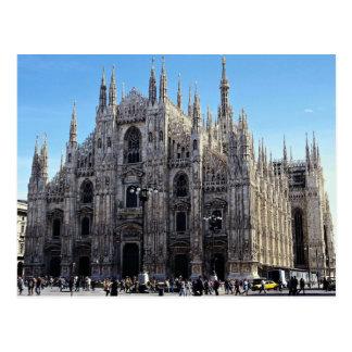 Catedral de Milano, Italia Tarjeta Postal