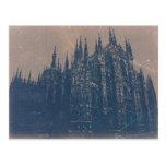 Catedral de Milano Postal