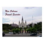 Catedral de New Orleans, Luisiana St. Louis Tarjeta Postal