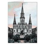 Catedral de New Orleans Tarjeton