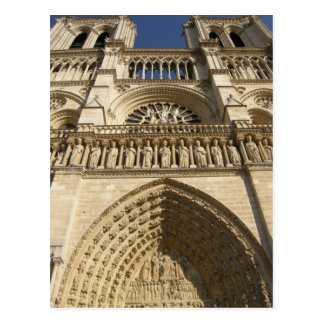 Catedral de Notre Dame en París Tarjeta Postal