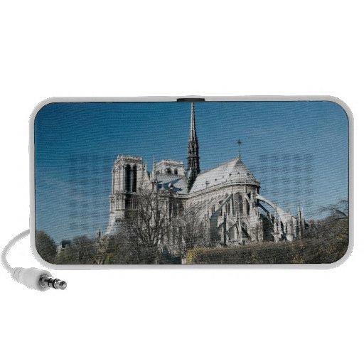 Catedral de Notre Dame Laptop Altavoces