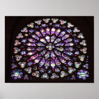 Catedral de Notre Dame, París, Francia de la venta Impresiones