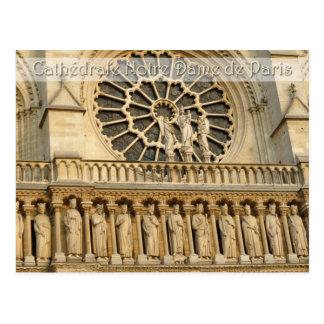 Catedral de Notre-Dame - París, postal