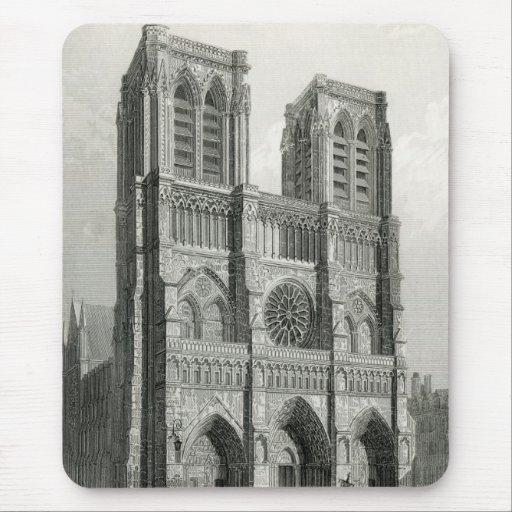 Catedral de Notre Dame, París Tapete De Ratones