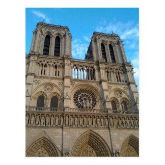 Catedral de Notre-Dame (París) Postal