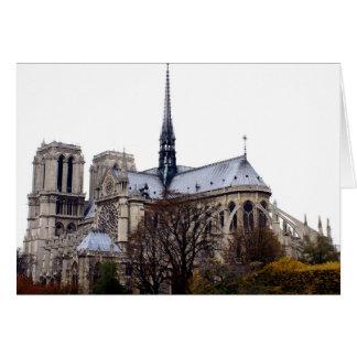 Catedral de Notre Dame Tarjeta Pequeña