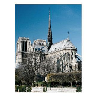 Catedral de Notre Dame Tarjeta Postal