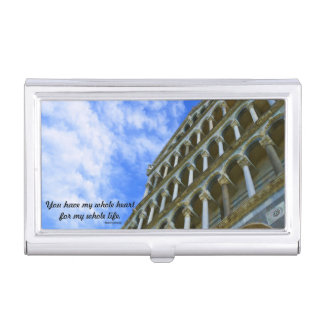 Catedral de Pisa con cita del amor