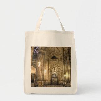 Catedral de Praga St.Vitus dentro Bolsa Tela Para La Compra