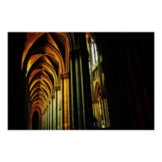 Catedral de Reims Poster