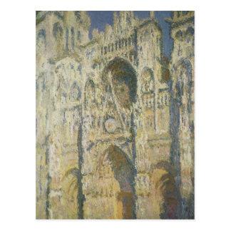 Catedral de Ruán en luz del sol completa Postales