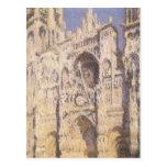 Catedral de Ruán, luz del sol completa de Claude Postal