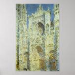 Catedral de Ruán, luz del sol del oeste Claude Mon Posters
