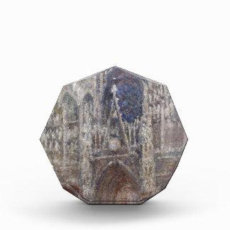 Catedral de Ruán, tiempo gris de Claude Monet