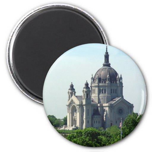 Catedral de Saint Paul Imán Redondo 5 Cm