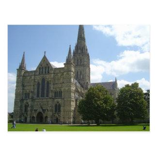 Catedral de Salisbury Tarjeta Postal