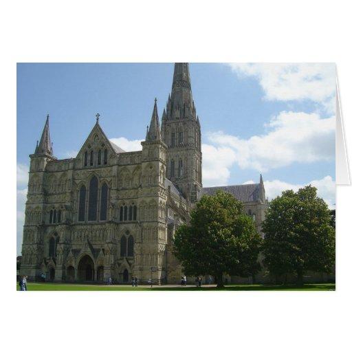Catedral de Salisbury Tarjetón