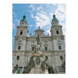 Catedral de Salzburg Tarjeta Postal