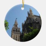Catedral de Sevilla Adorno Redondo De Cerámica