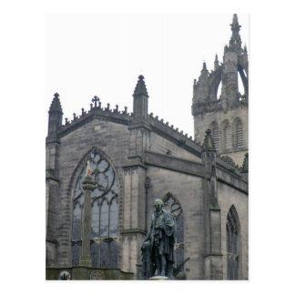 Catedral de St Giles de Edimburgo Tarjeta Postal